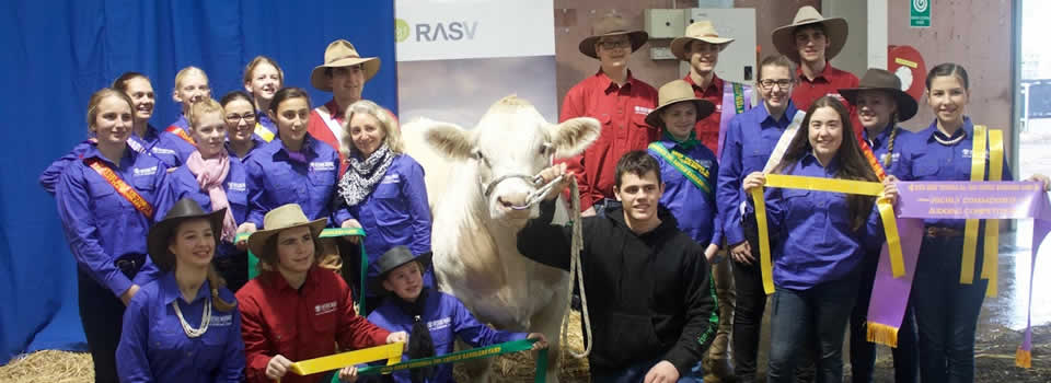 Mt Lilydale College Young Farmers Exhibit 2017