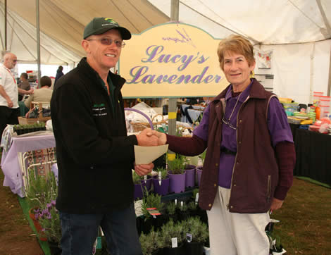 Best Presented Stand General Interest - Lucy's Lavender, Yellingbo