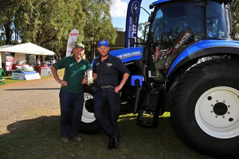 2014 Phil Chapman Award (Best Machinery & Equipment Display) - Agpower Lilydale