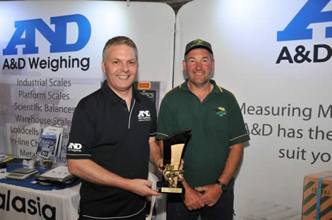 2014 Best Presented Stand (General Interest) - A & D Australasia