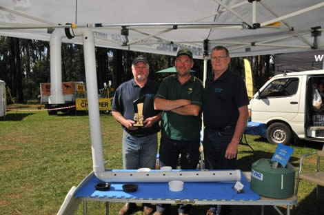 2014 David Aitken Award (Most Innovative Stand) - N A McPhee Plumbing Services