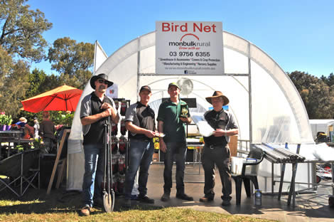 2016 Best Presented Stand (Light Equipment) - Monbulk Rural Enterprises
