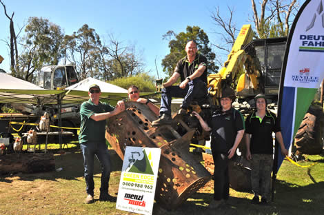 2016 Phil Chapman Award (Best Machinery & Equipment Display) - Green Edge Contracting