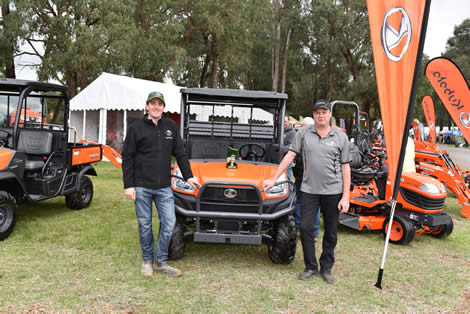 2017 Phil Chapman Award (Best Machinery & Equipment Display) - Yarra Glen Mowers & Tractors