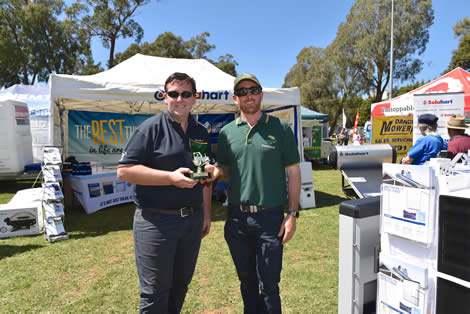 2018 Best Presented Stand (General Interest) - Solarhart Eastern Ranges