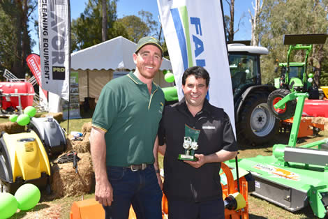 2018 Best Presented Stand (Heavy Machinery) - Seville_Tractors