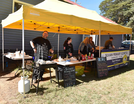 Come and check out the Field Days exhibits and enjoy the range of food on offer